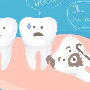 Yirmilik Gömülü Diş Çekimi